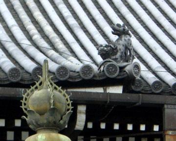 西本願寺の狛犬