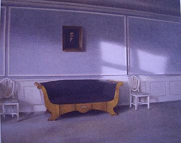 居間に射す陽光III