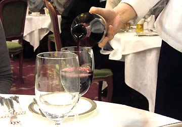 飲みやすい赤ワインでした